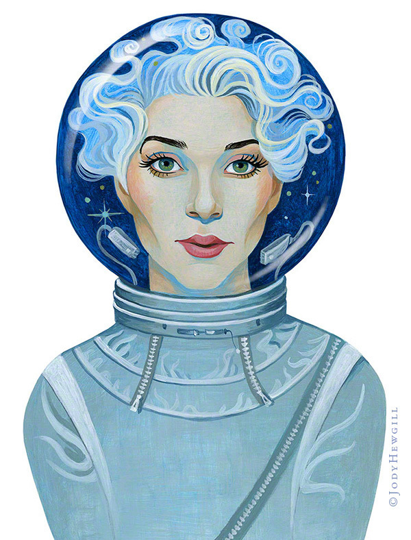 St Vincent on Space Oddities