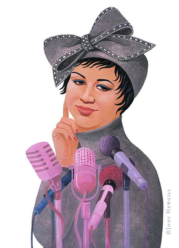 Aretha Franklin on amazing performances. The hat was a nod to her performance for Obama's inauguration.
