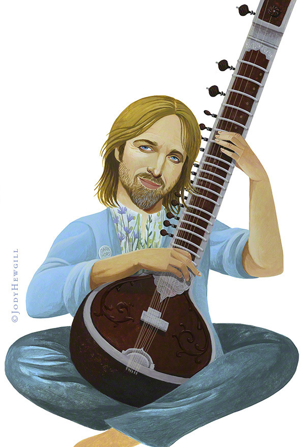Tom Petty on George Harrison's music. Balvis did all the details to the sitar.