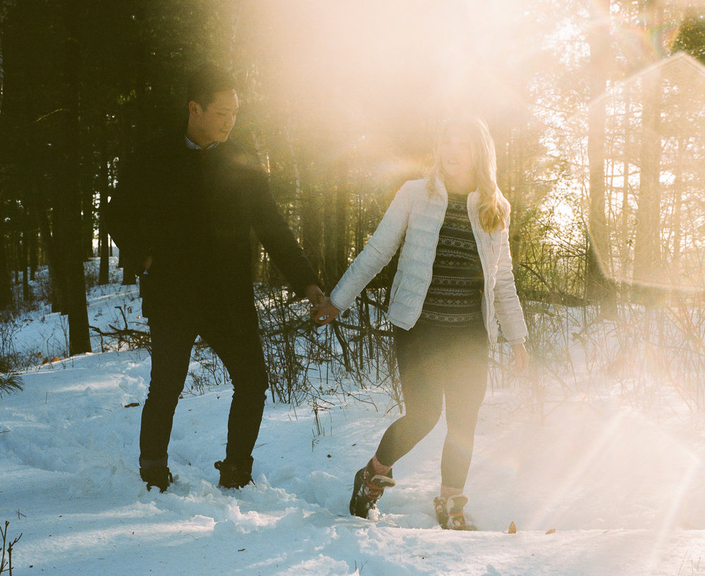 Northwoods Engagement Session on film-35.jpg