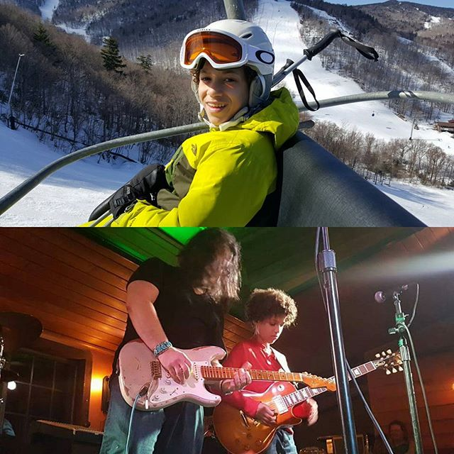 I ski by day, I rock by night. @killingtonmtn