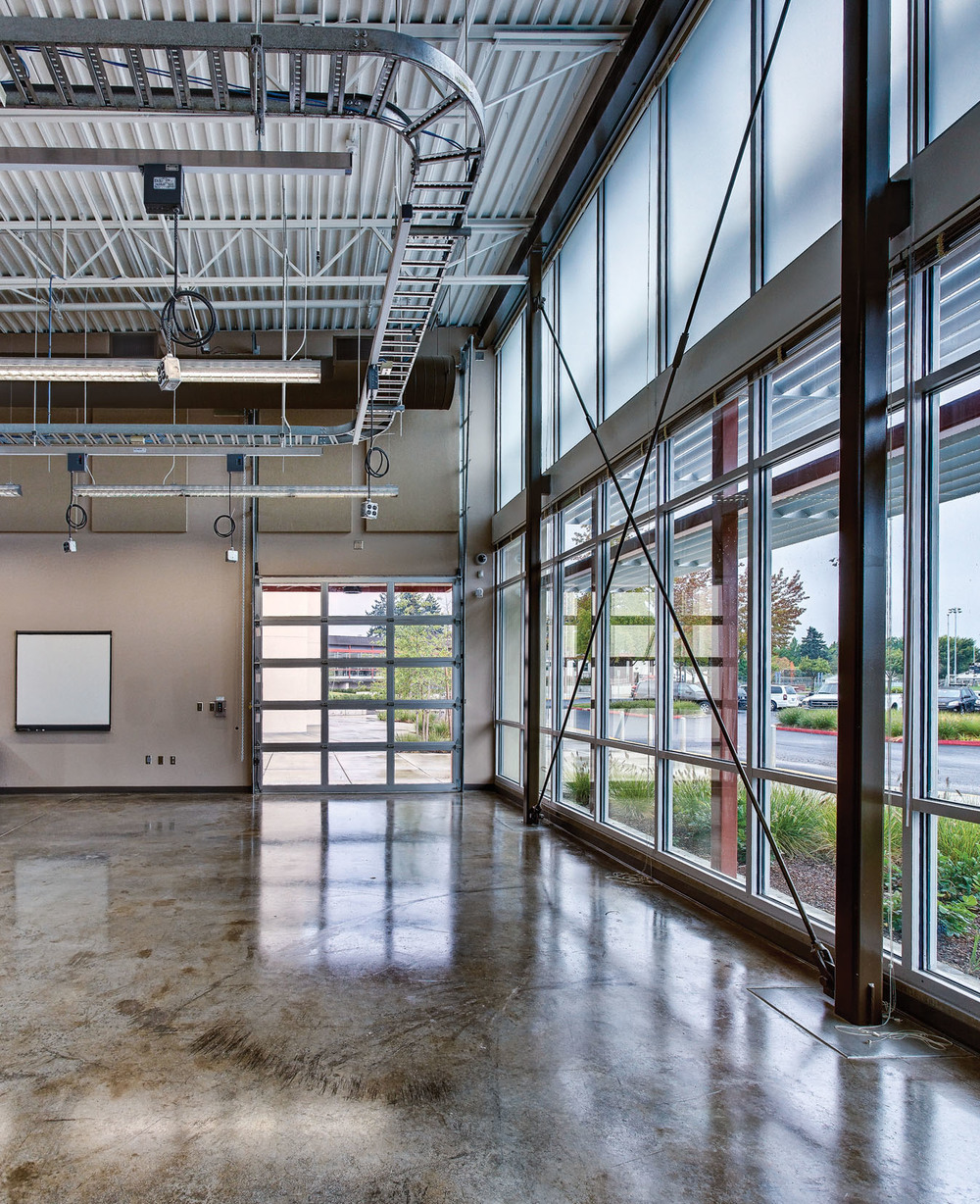 Interior, Technology Wing [Photo by Gary Wilson]