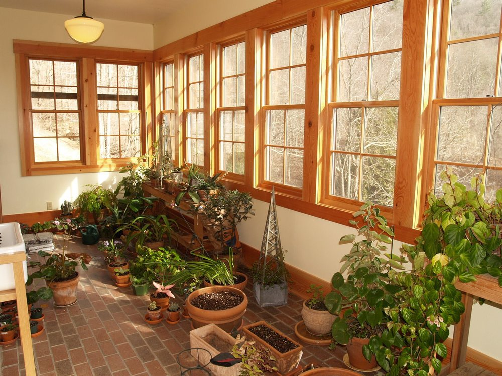 Interior, Uppler Level Sunroom