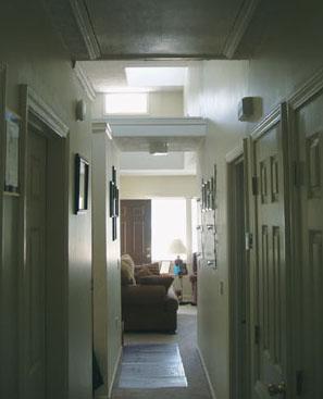 Interior, Hallway
