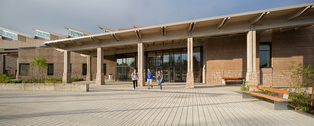Exterior, Main Entry [Photo by Josh Partee]