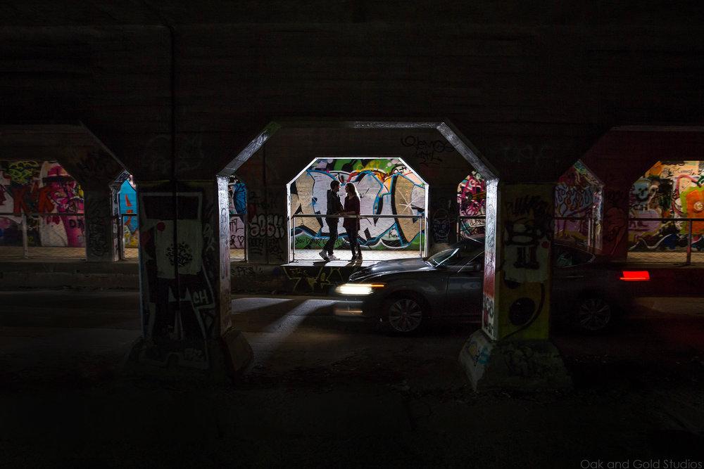 engagement photos in krog st tunnel.jpg