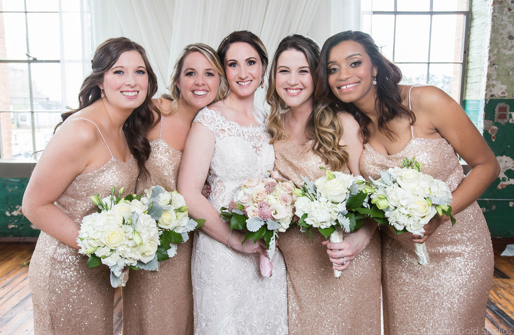 bridesmaids inside the engine room.jpg