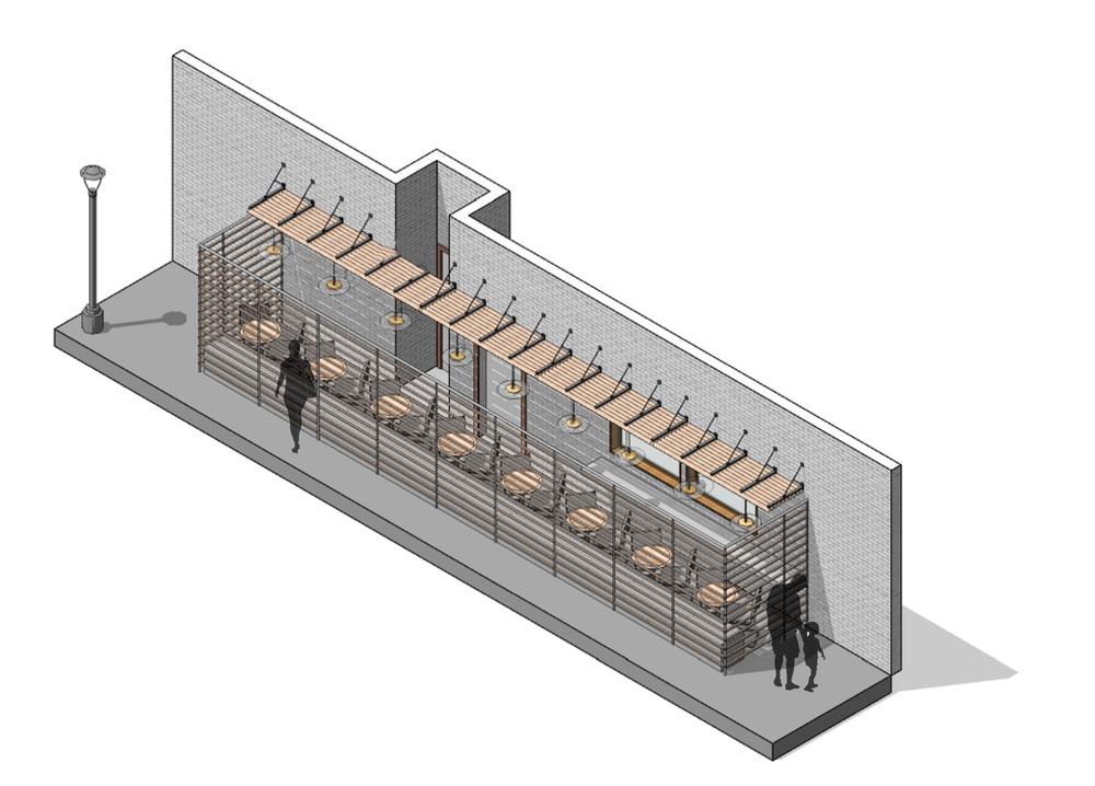 Restaurant Patio Renovation