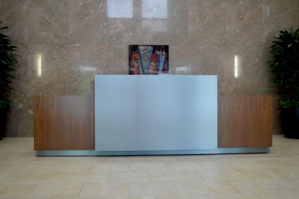 Chartway 1st Floor Reception Desk