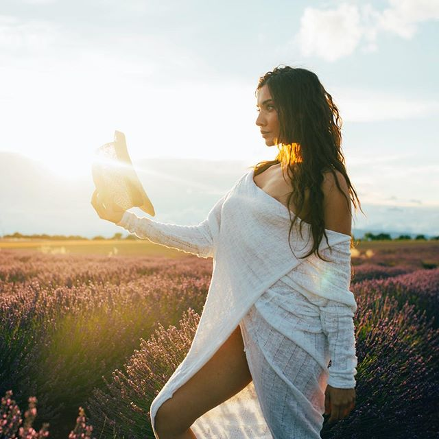 Soon the lavender will bloom and my homelands will turn purple. Can't wait to chill there at dusk with @vagabonde.tv - - - - - #somewheremagazine #stayandwander #passionpassport #fisheyelemag #provence #shotoftheday #igersfrance #modernoutdoors #beautifulgirl #makeportraits #buchowskietvagabonde
