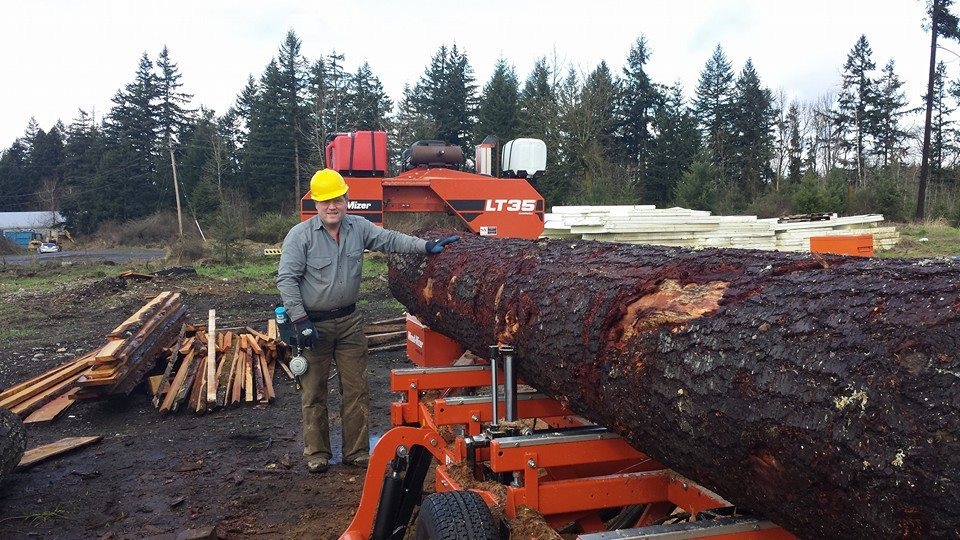 My dad, JT Wilcox, works at the capital as a Washington State Representative. He says running a sawmill is the best reality check.