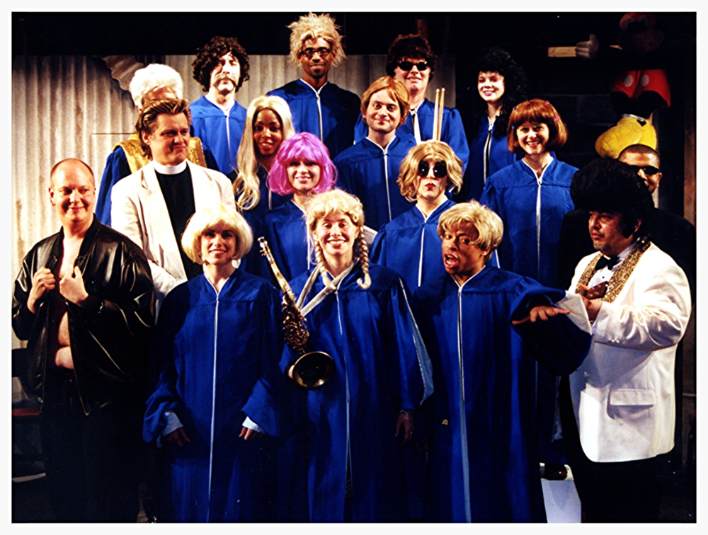 REVEREND BILLY AND THE MACKY DEES CHOIR