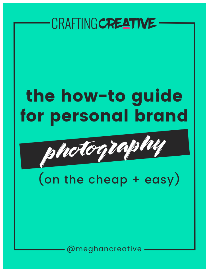I'd never liked the idea of brand photography, but knew it was necessary to build a personal brand and connect with my audience. My solution? I did it myself!  Click through to read all the tips!