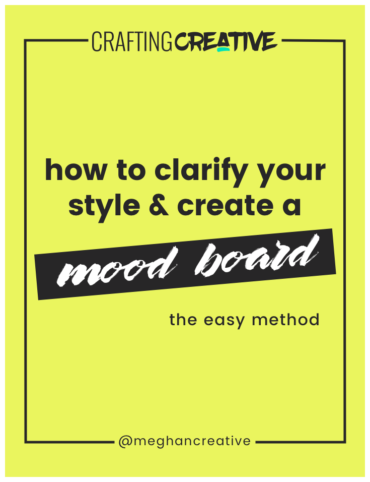 Your personal brand style is not restricted to your website or online presence. So, I want to walk you through an exercise to help you make the connection from your personal style to your brand style and how to create a moodboard with Pinterest.