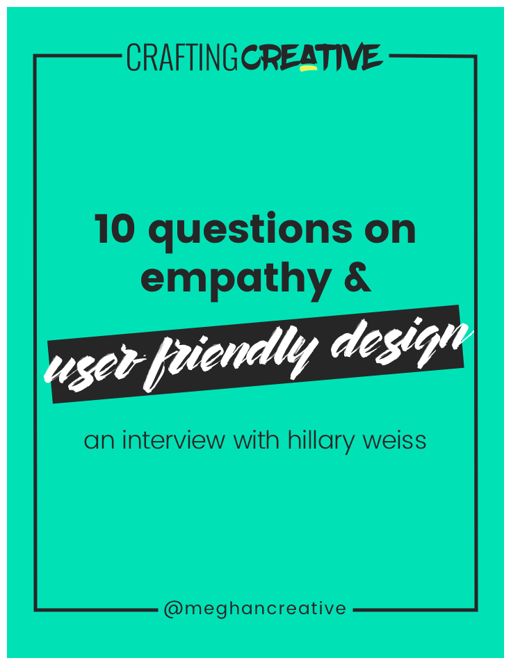 Designing a user-friendly website – one that attracts and converts more of your dream clients with less of the hustle – starts with empathy. We've got to have empathy for our site visitors and, in this interview, I share specific insights on how to do that. Click through to read it.