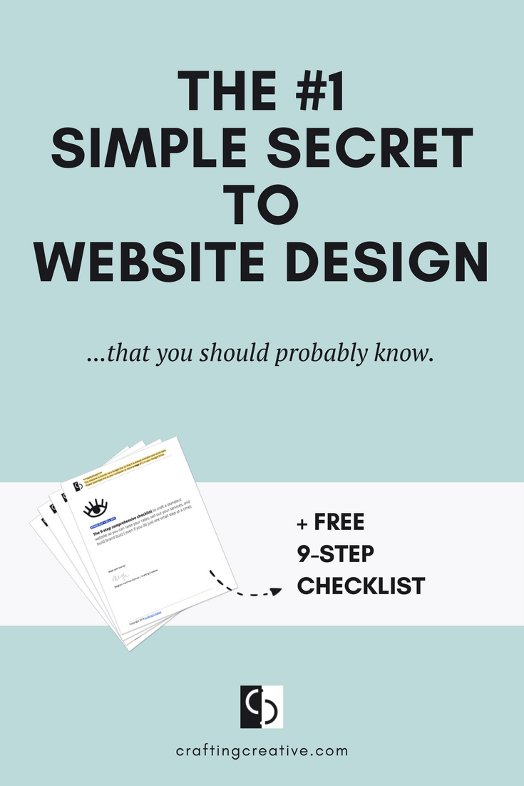 You're looking around at all of the beautiful websites of competitors and influencers in your space and feeling like yours will never be as good. You question how you could possibly raise your rates when your website betrays you as a DIYer and looks amateur. Click through to find out the simple secret to web design that you should know.