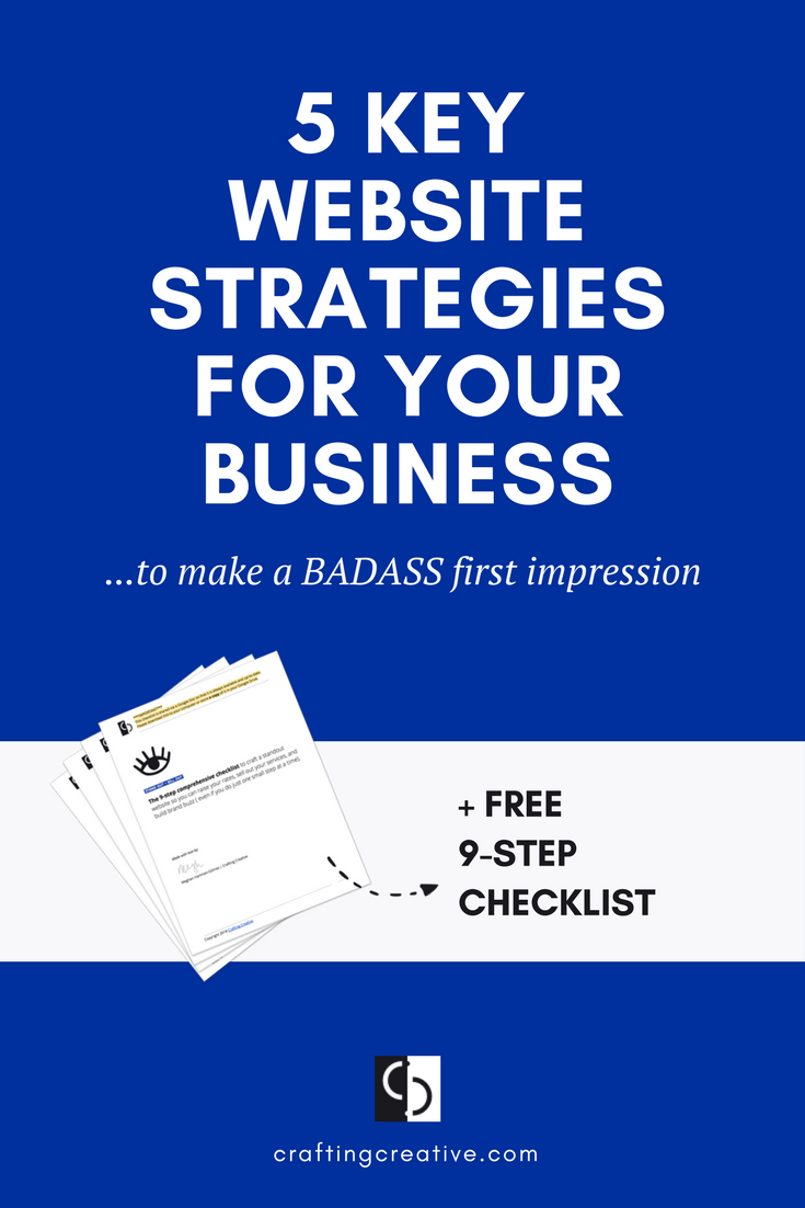 Your website is often the first impression that potential clients have of your business. And you're worried that the impression your website is making is, well…less-than-professional. But you're not sure where to begin. Start here.