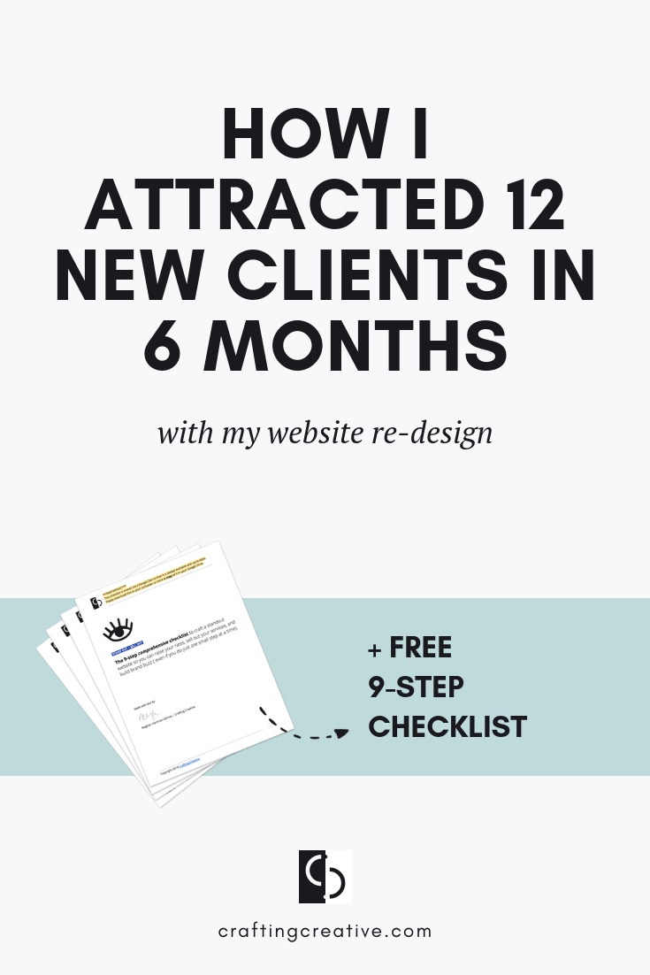 I don't sell people. I let my website do that for me. It's so effective that the majority of people that contact me have already decided they want to work together. That's the power of a well-crafted website that stands out from the sea of sameness. Get the full story »