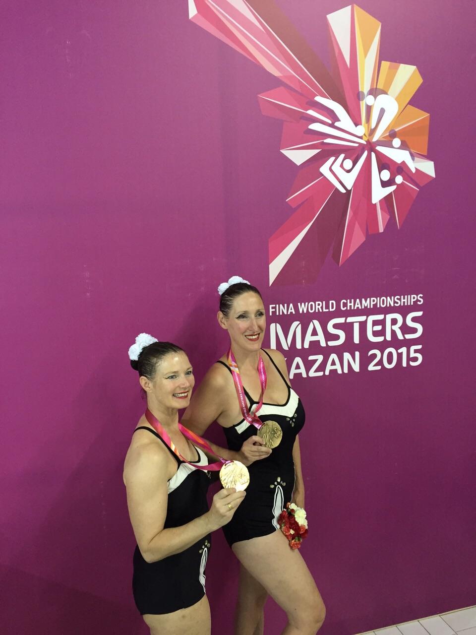 Alex & Babette, WK Masters 2015