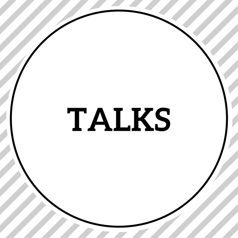 request a free talk for a NGO / university