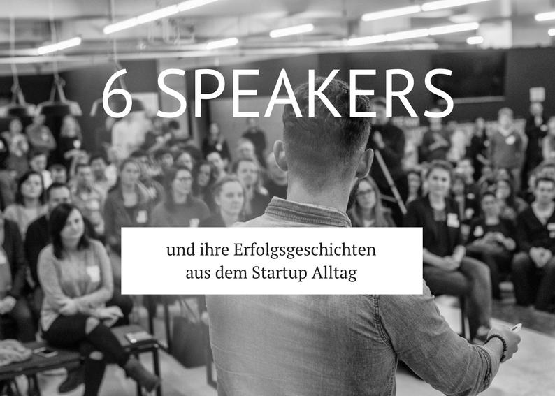 Die Speaker haben schon Erfahrung mit verschiedenen Formen der Startup Finanzierung oder sind selbst in der Rolle, in Startups zu investieren oder Startups bei der Finanzierungsfindung zu unterstützen.