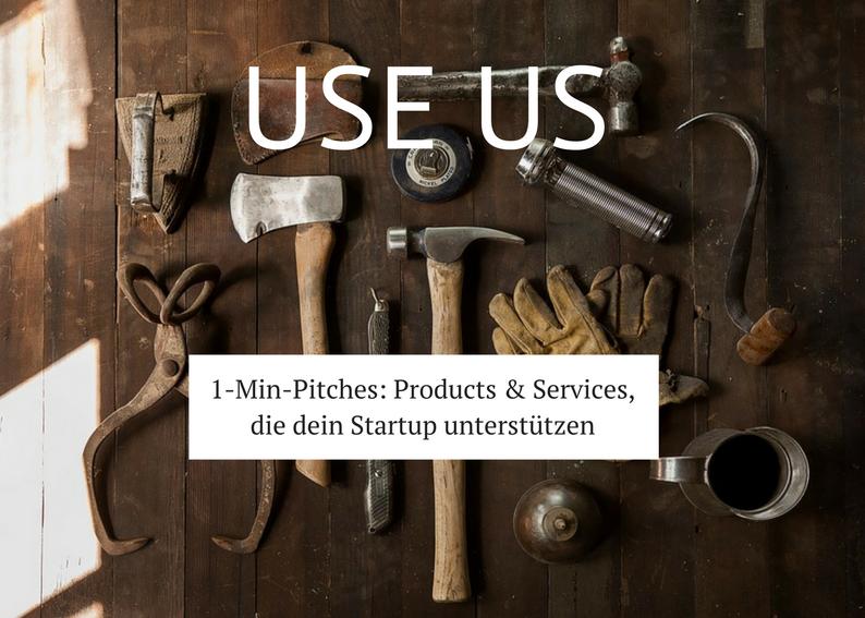 Startups & Corporates & Freelancer präsentieren ihre Produkte / Services, die anderen dabei helfen, ihre Arbeit leichter, schneller, günstiger, besser zu machen. Bei Interesse schreibt uns eine  Email