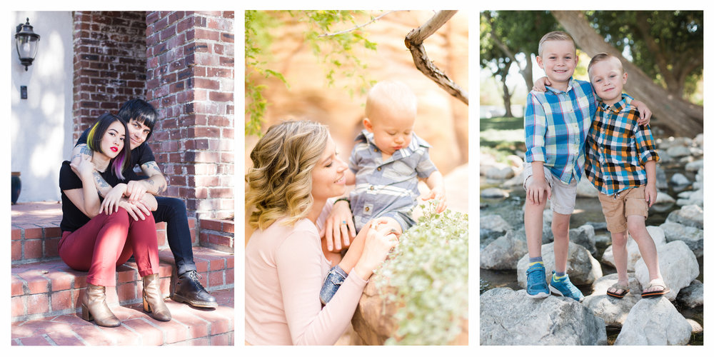 Couple/family portrait rates & info -