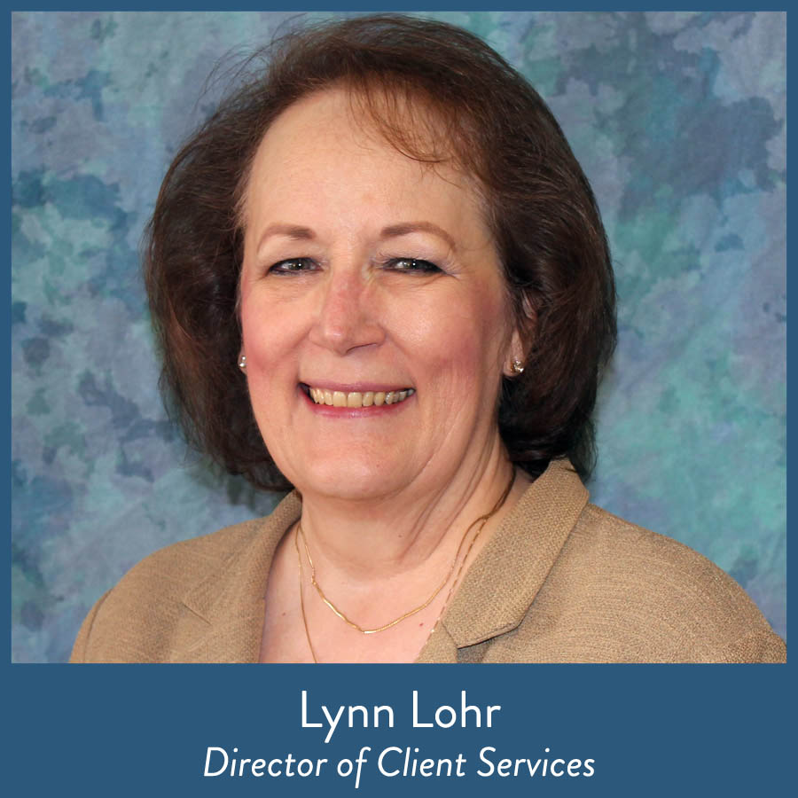 Lynn Lohr, Director of Client Services