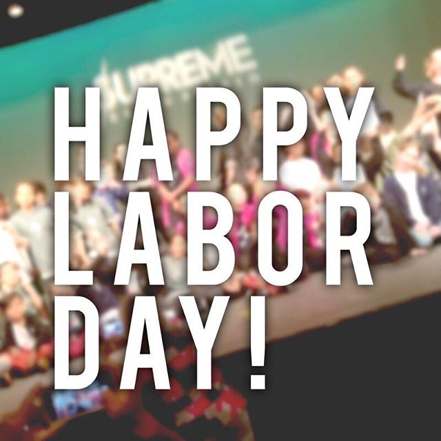 We wish everyone a happy and safe Labor Day weekend! We also want to remind everyone that the 2018/2019 Program Schedule starts Tuesday September 4th and we hope you can join us! Check out our schedule on supremedancestudio.com and register today! #wearesupreme #supremedancestudio #supreme #letsgo #labordayweekend