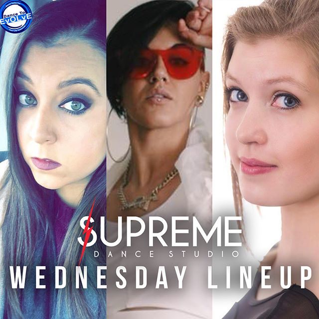 Supreme x Dance To Evolve Wednesday Line Up!!! #wearesupreme #supremedancestudio #dancetoevolvechicago #dance #ballet #contemporary #supreme #axis #firstday