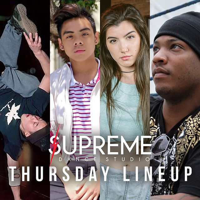 Supreme Thursday Line Up!!! #wearesupreme #supremedancestudio #supreme #hiphopdance #skokie #chicago #firstday