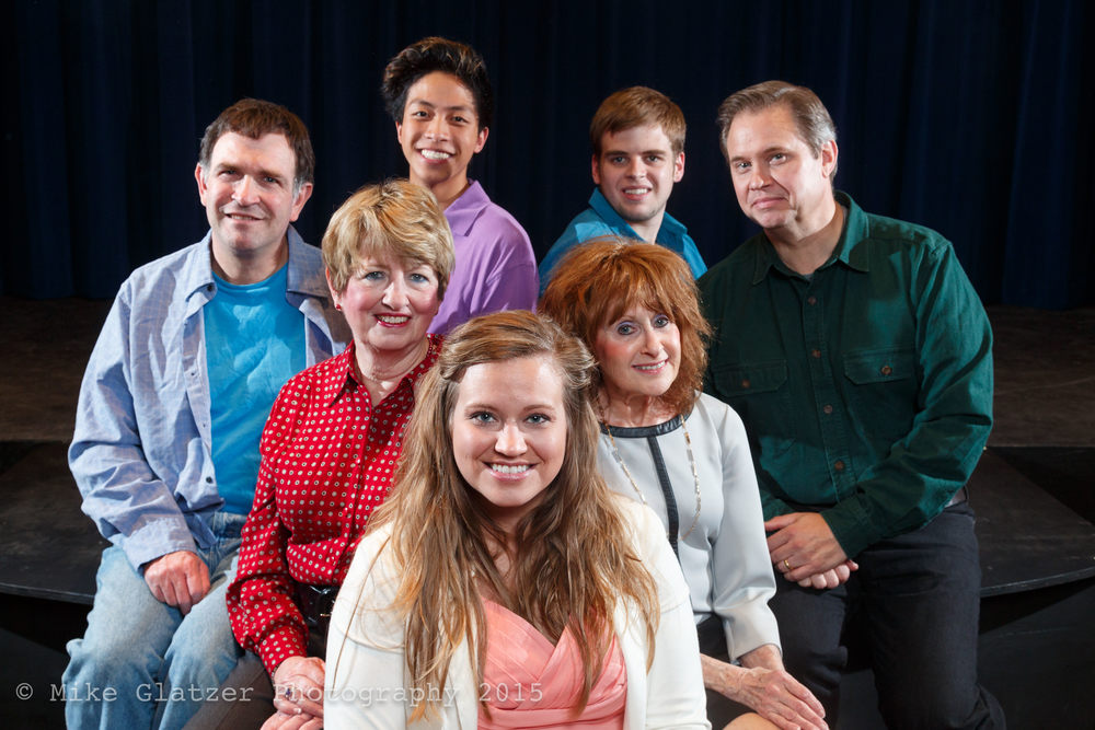 Left to Right: Chris Voss, Mary Nimsgern, Willis Hao, Jennie Blevins, Sandy Woodman, Benjamin Roper, Joe Baxter