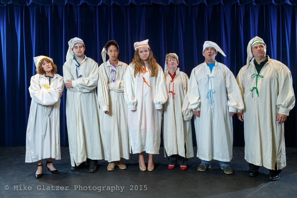 Left to Right: Sandy Woodman, Benjamin Roper, Willis Hao, Jennie Blevins, Mary Nimsgern, Chris Voss, Joe Baxter