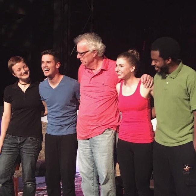 Left to right: Julia Jordan, Ty Autry, Bob Farley, Maggie Birgel, Ptah Garvin
