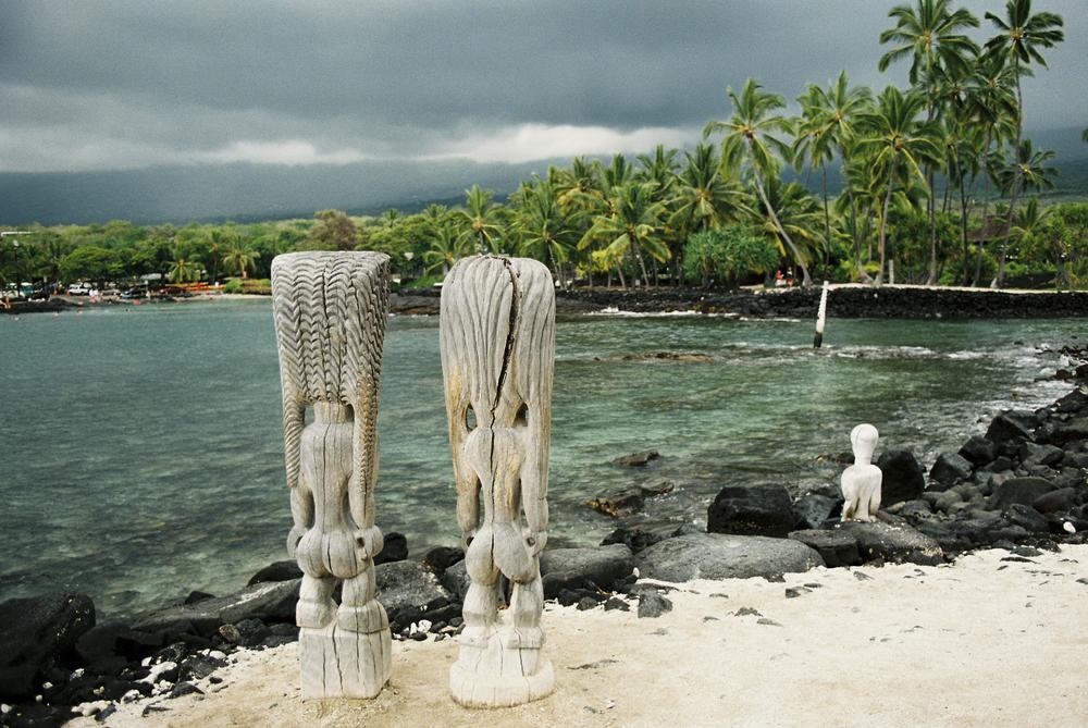 Pu`uhonua o Honaunau, Kona, Hawai`i