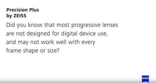 8ab76401869 No-Line High Definition Digital Progressive Lenses have many prescriptions  that smoothly cover the entire lens. There are many points of focus without  any ...