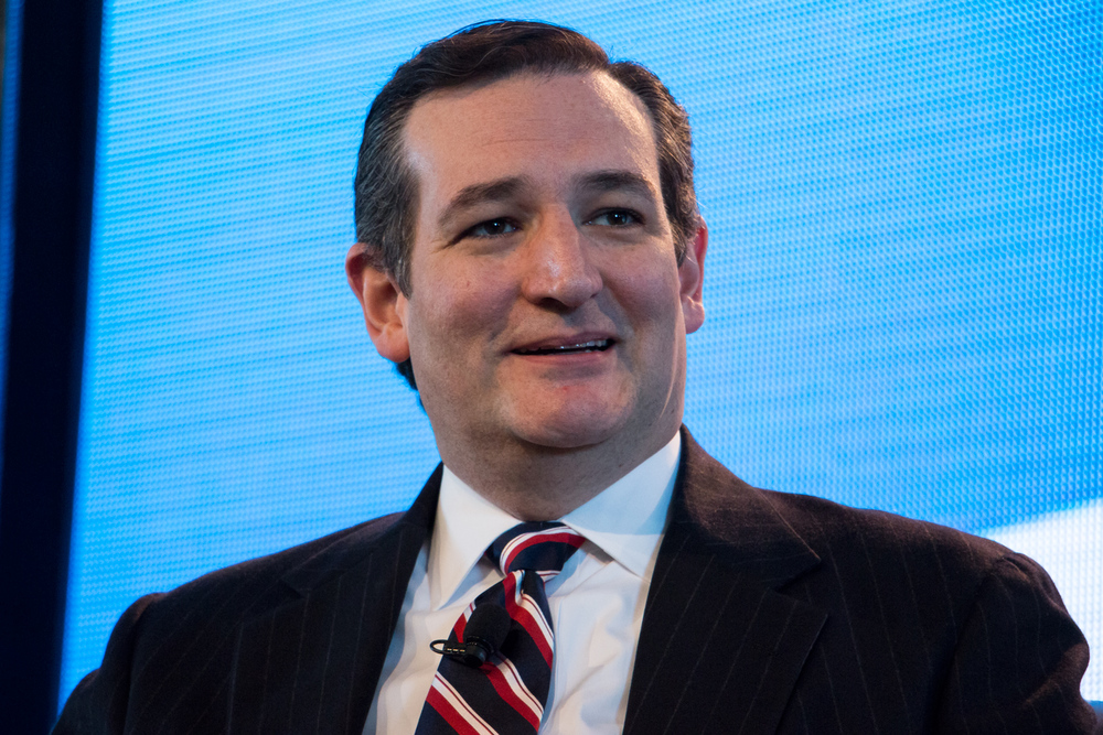 Ted Cruz, presidential candidate who opposes abortion in all cases, even incest and rape. 03072015_TedCruz_001_3x2_1080 by iprimages is licensed under CC BY 2.0.
