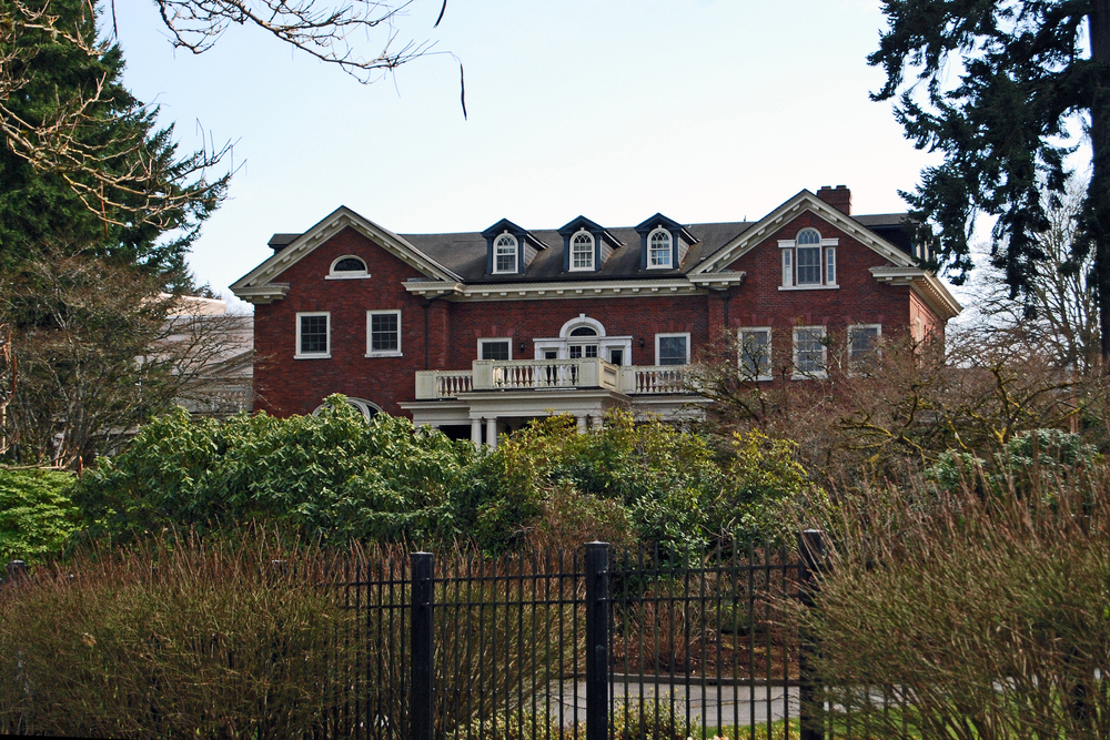 The Washington State Governor's Mansion in Olympia, WA.      Photo  by  Harvey Barrison  is   licensed under   CC BY 2.0.