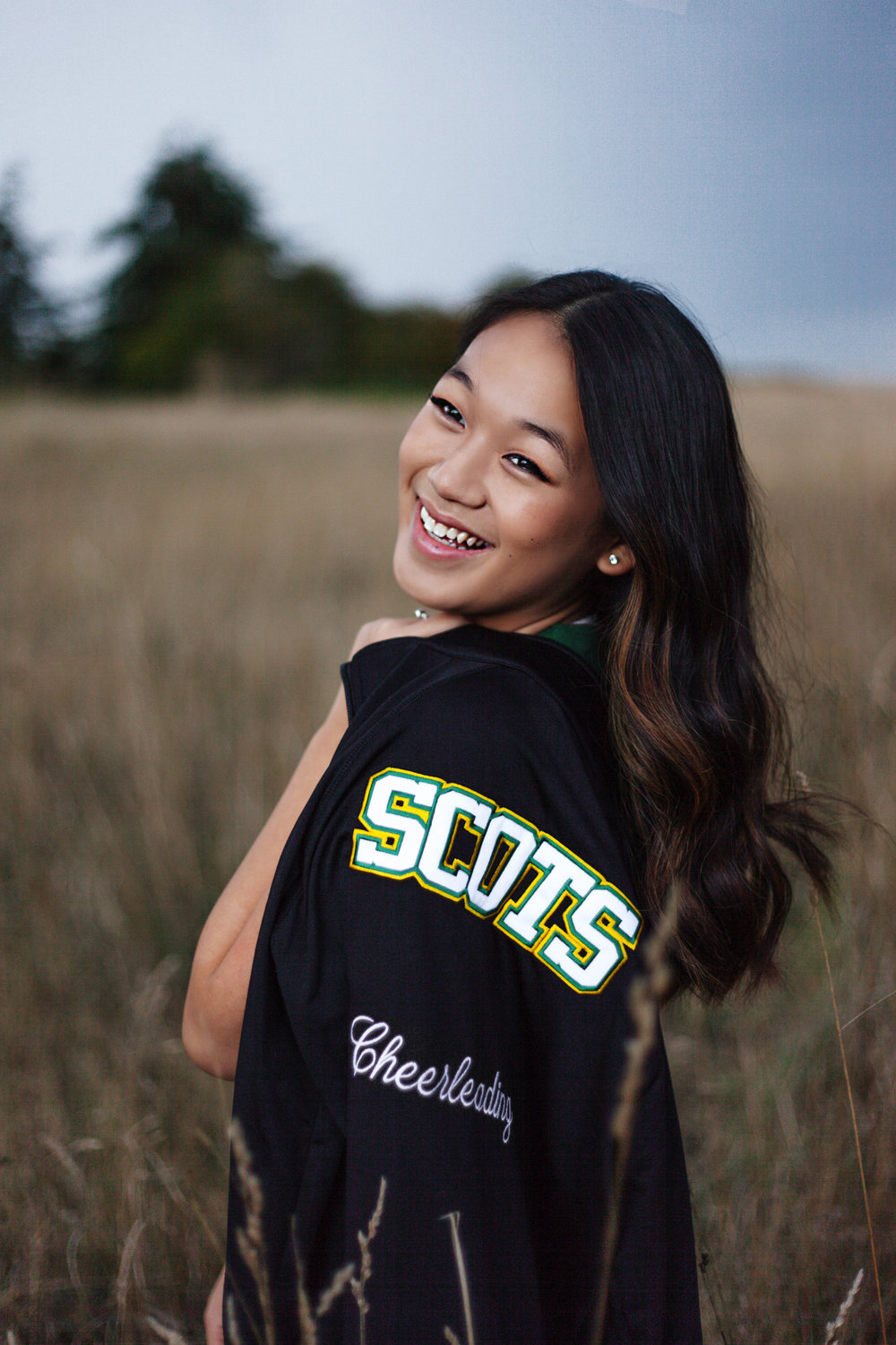 Haley McLain- Seattle Senior Portrait Photographer- Jasmin, Shorecrest CHeerleader