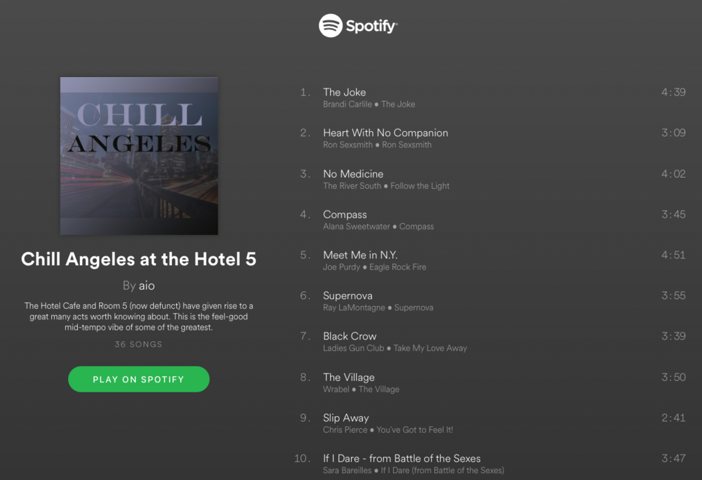 click the graphic to visit this Spotify playlist.