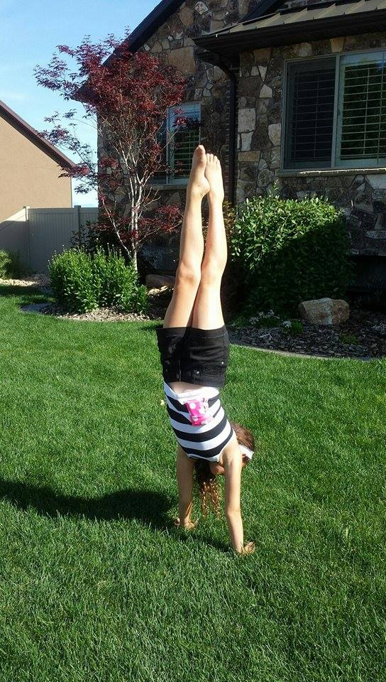 Can you do a handstand while wearing an insulin pump? Now you can.