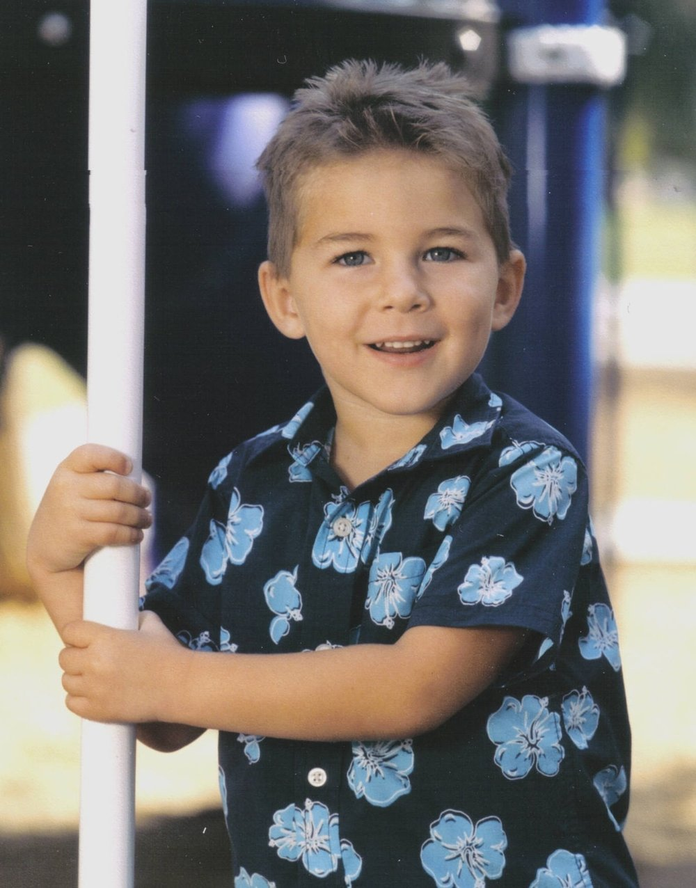 little boy with diabetes