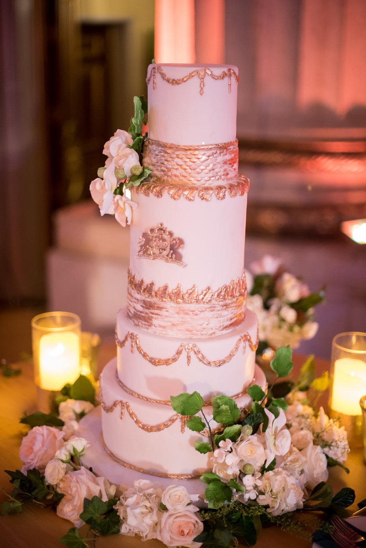 Wedding Cake Mellon DC Luxury Wedding Planner
