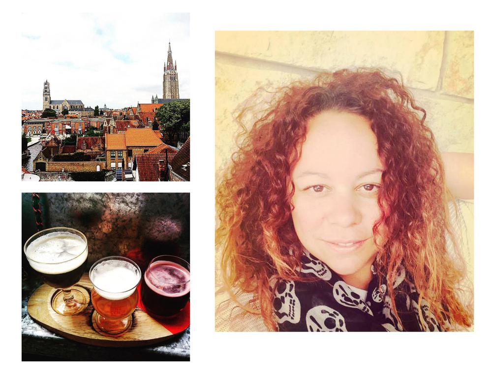 Views and beer in Bruges, selfie in Stuttgart (photos by @jennalogic)
