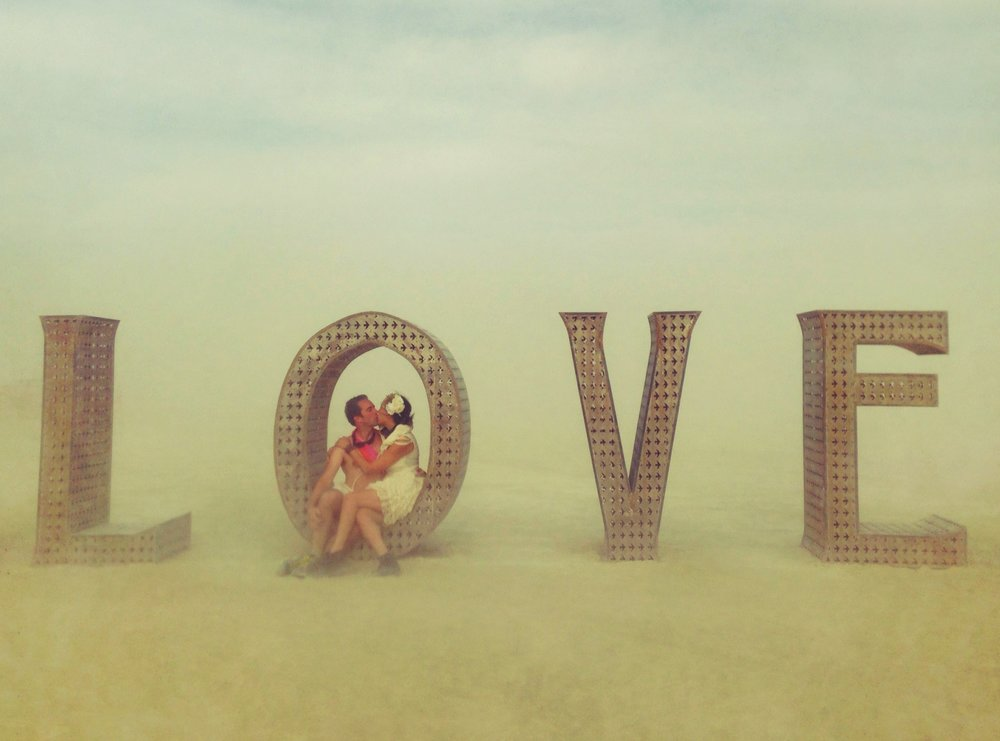 "The ""LOVE"" sign in 2014 - perfectly encapsulated our experience that year !"