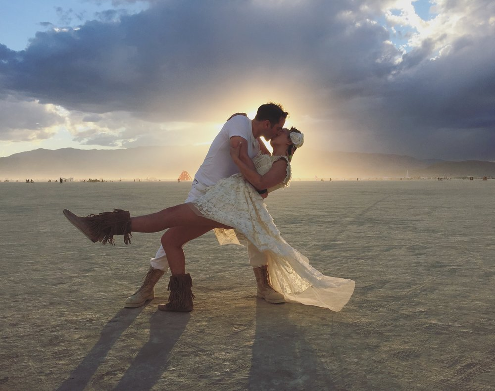 Incredible capture by Chris Mullendore during our surprise sunset wedding