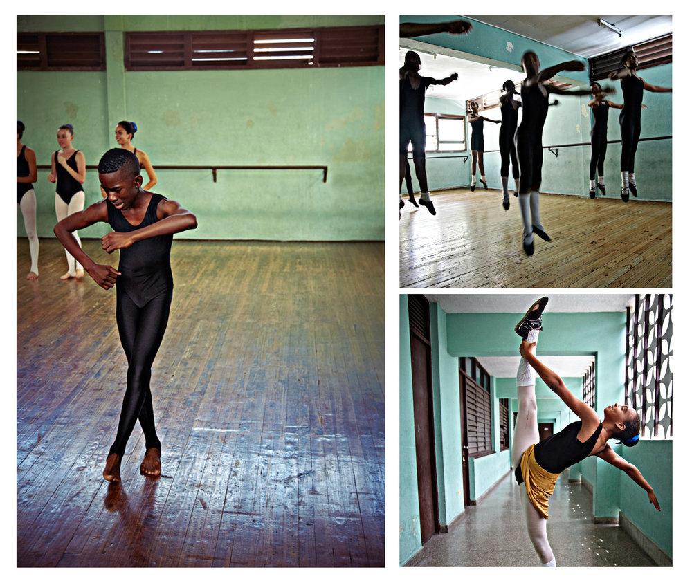 Dance studio, Havana