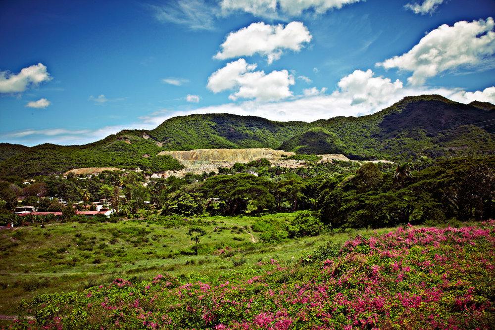Rural mining town near Bayamo