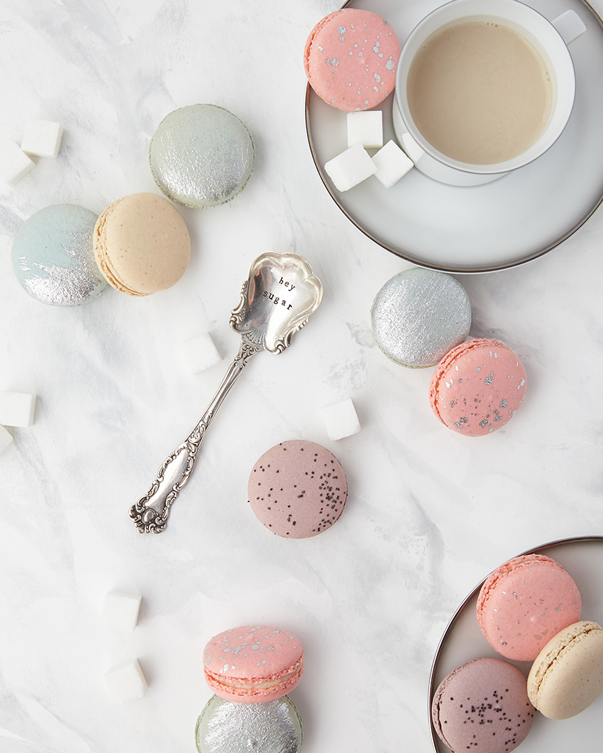 These macarons are from San Francisco macaron shop Chantal Guillon