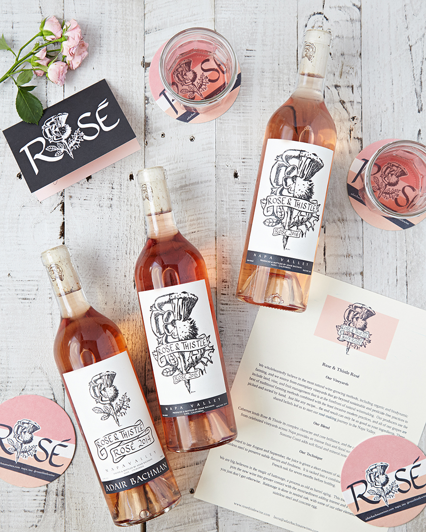 The Rose & Thistle lineup - the 2014, 2015, 2016 releases (from left to right.)